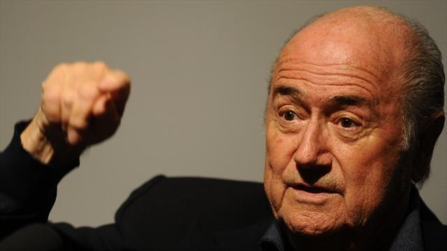 World Cup - Blatter calls for calm over Qatar 2022 problems