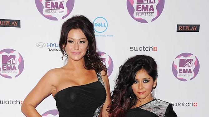 J Woww Snooki MTV European Music Awards