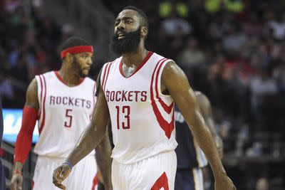NBA admits referees missed James Harden foul call at end of Grizzlies-Rockets