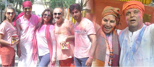 Shabana Azmis Holi Celebration