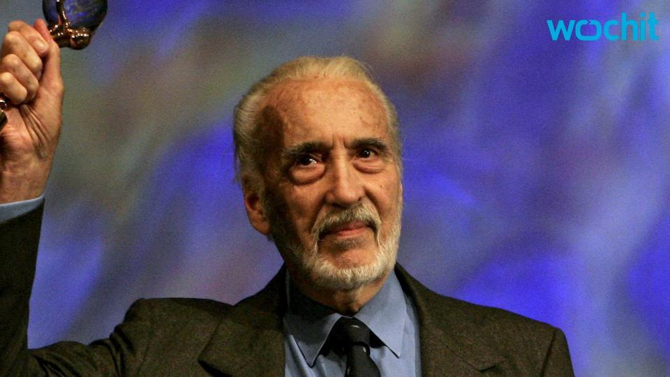 Legendary Actor Christopher Lee Passes Away at 93