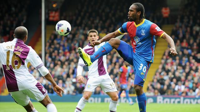 Premier League - Puncheon proves the difference as Crystal Palace edge win over Aston Villa