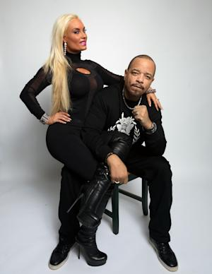 "Nicole ""Coco"" Austin, left, and Ice-T, from the film ""The Art of Rap,"" pose for a portrait during the 2012 Sundance Film Festival on Saturday, Jan. 21, 2012, in Park City, Utah. (AP Photo/Victoria Will)"