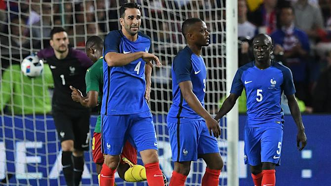 France defender Rami admits to mistakes against Cameroon