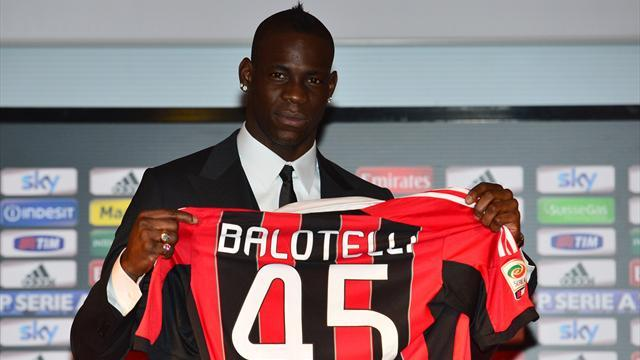 Italian Serie A - Balotelli slams English press, weather, food