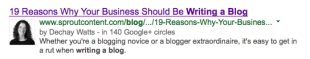 Why Consistent Blog Content Boosts SEO & Builds Authority image Screen Shot 2014 01 23 at 2.48.26 PM