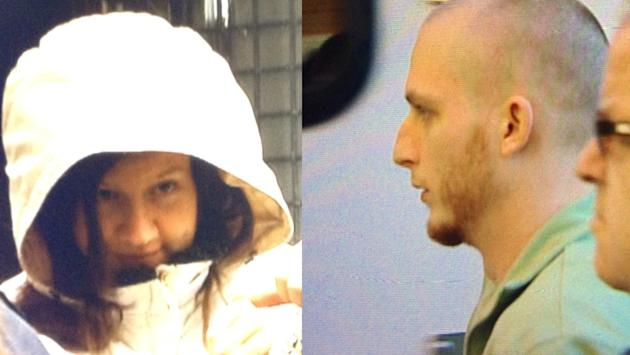 Victoria Henneberry, 28, and Blake Legette, 25, have been charged with first-degree murder.