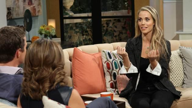 Elizabeth Berkley Lauren stops by Access Hollywood Live on September 11, 2013 -- Access Hollywood