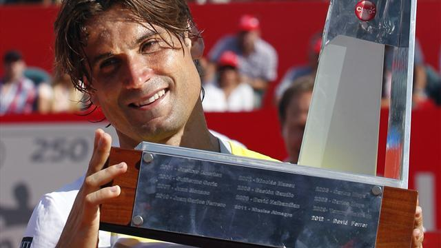 Tennis - Ferrer defends Buenos Aires title