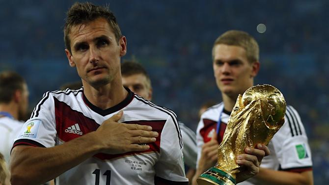 World Cup - Germany legend Klose announces international retirement