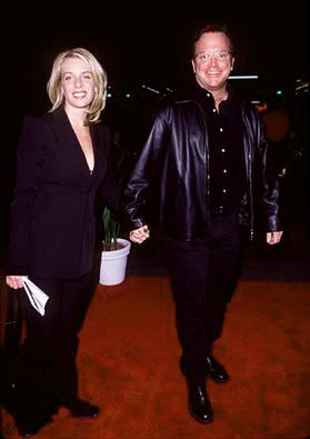 Premiere: Tom Arnold and wife at the premiere of Paramount's Titanic - 12/14/1997