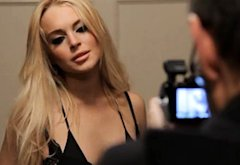 Lindsay Lohan | Photo Credits: James Franco/Warner Bros. Records