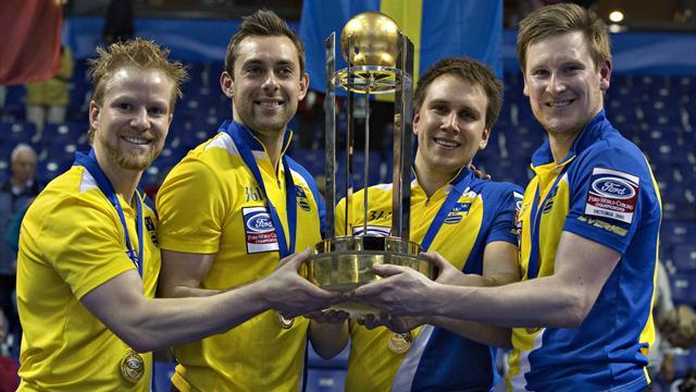 Curling - Sweden beat hosts Canada to become world champions