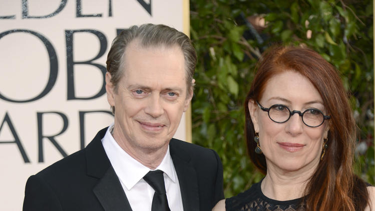 Steve Buscemi and wife JoAndres