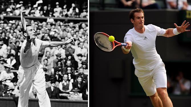Tennis - Fred Perry and Andy Murray File Photo