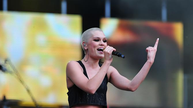 Jessie J performs at The Sound of Change Live at Twickenham Stadium in London on Saturday, June 1st, 2013. (Photo by Jon Furniss/Invision/AP Images)