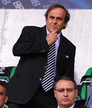 UEFA President Michel Platini confirmed plans for an expanded Champions League are being considered