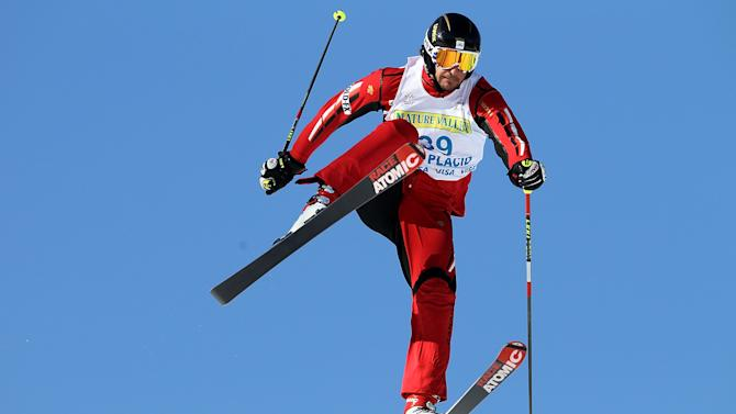 Canada's Nick Zoricic, pictured in the 2010 Freestyle Skiing World Cup Ski Cross
