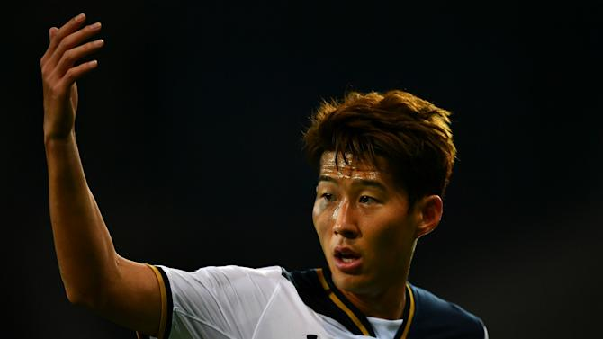 WATCH: Son scores sensational volley for Spurs