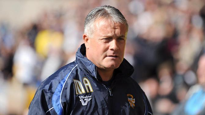 Micky Adams was a relieved man after the FA Cup victory over Forest Green