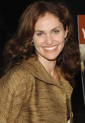 Amy Brenneman at the Los Angeles premiere of THINKFilm's 10 Items or Less
