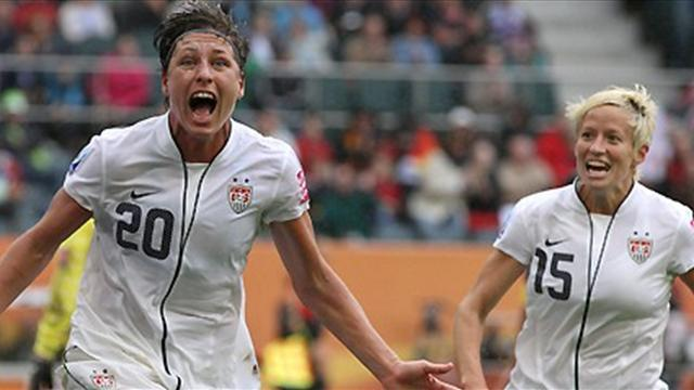 Football - Wambach becomes all-time leading scorer in women's game