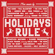 "This CD cover image released by Hear Music shows ""Holidays Rule,"" a collection of holiday songs by various artists. (AP Photo/ Hear Music)"