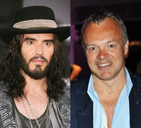 Russell Brand Slams TV Host Graham Norton for Talking Katy Perry Divorce