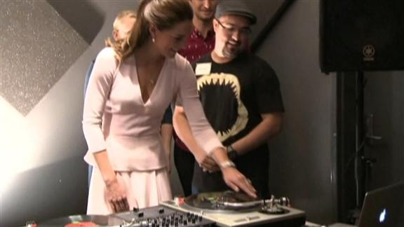 Königliches DJ-Paar: Prinz William feat. Kate
