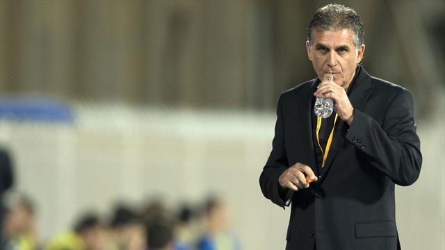 World Cup - Edu to assist Iran's Queiroz in Brazil