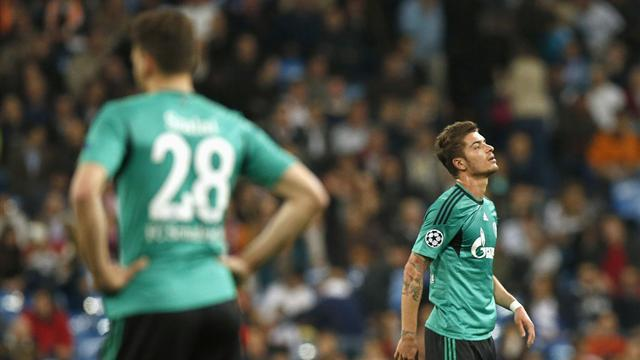 Bundesliga - Schalke eye quick return to Europe despite Real thrashing