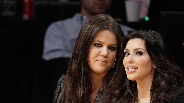 Kim Khloe Kardashian Lakers Game