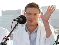 """File photo shows journalist Jonah Lehrer at the """"You and Your Irrational Brain"""" panel discussion in New York City in 2008. Lehrer has acknowledged he concocted quotes from Bob Dylan in his best-selling biography of the American folk legend, a magazine article revealed"""