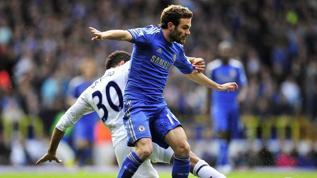 Premier League - Mata inspires Chelsea to beat Spurs in thriller at the Lane