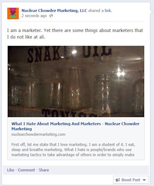 Facebook Changes Algorithm For Business Pages (Again) image Like Share Post On Facebook Pages