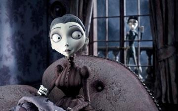 Victoria Everglot (voiced by Emily Watson ) in Warner Bros. Pictures' stop-motion animated film Tim Burton's Corpse Bride