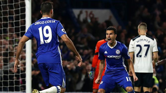 Guardiola wary of threat posed by Costa and Pedro in Chelsea clash