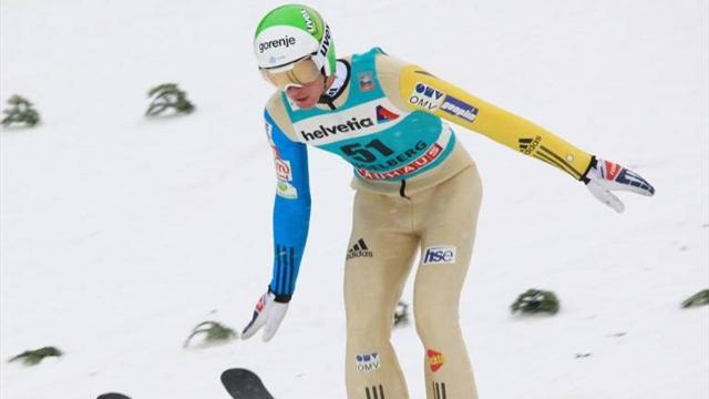 Ski Jumping - Prevc claims first ski jumping World Cup win