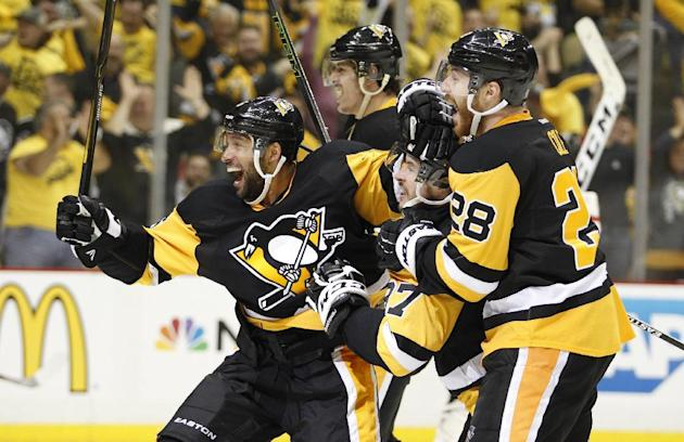 Ice hockey - Hornqvist scores overtime winner to lift Pens past Capitals