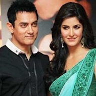 Aamir Khan Brings Ailing Katrina Kaif To 'Dhoom 3' Sets
