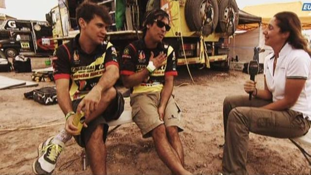 Dakar - One-to-one with the Prohens brothers