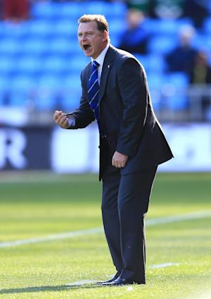 New manager Mark Robins saw his Coventry side booed off after they slipped to another defeat
