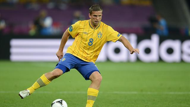 Football - Record-holder Svensson calls time on Sweden career