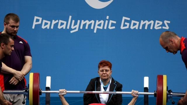 Paralympic powerlifter banned for failed drug test