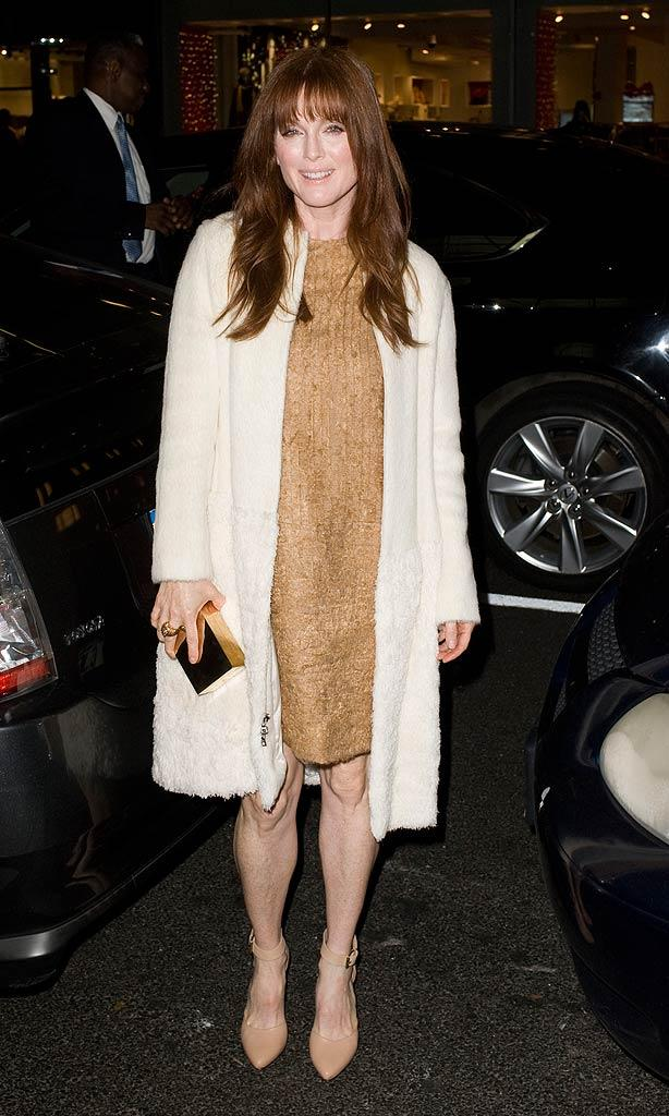 Julianne Moore NYC