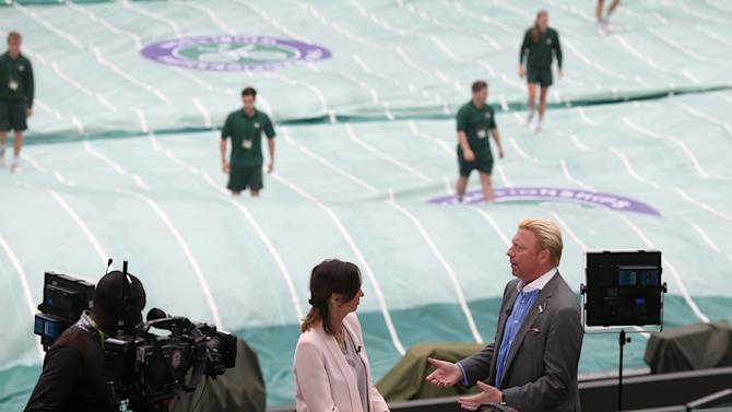 Tennis - 2013 Wimbledon Championships - Day Nine - The All England Lawn Tennis and Croquet Club