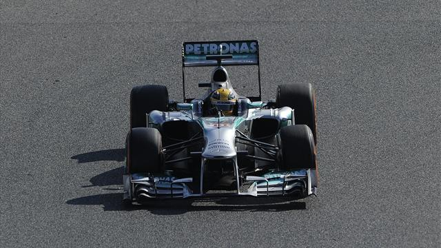 Formula 1 - Rosberg fastest in final winter F1 test