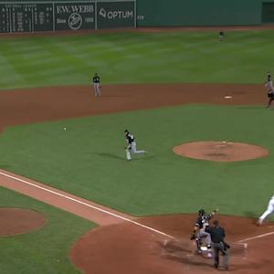 Hanley's RBI infield single