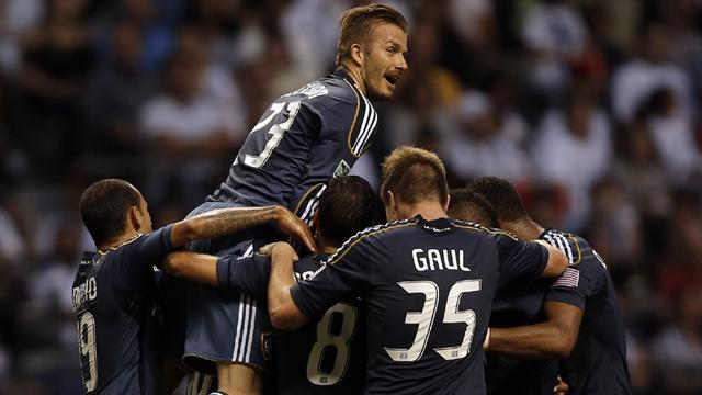 World Football - Beckham proud of his role in helping boost MLS