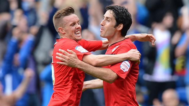 Championship - Cardiff march on after beating Palace, Foxes hold Hull